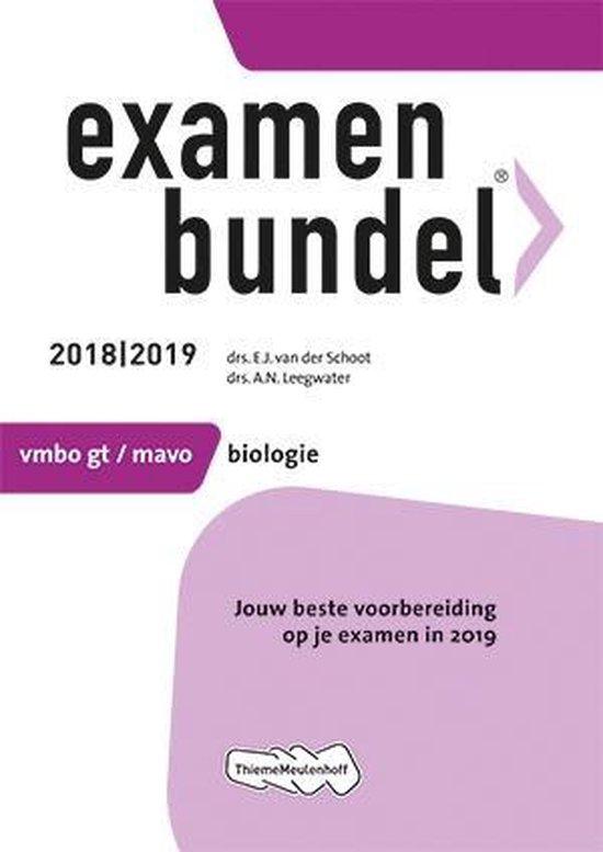 Examenbundel vmbo-gt/mavo Biologie 2018/2019