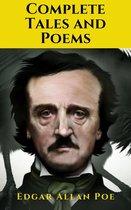 Boek cover Edgar Allan Poe: The Complete Tales and Poems van Edgar Allan Poe