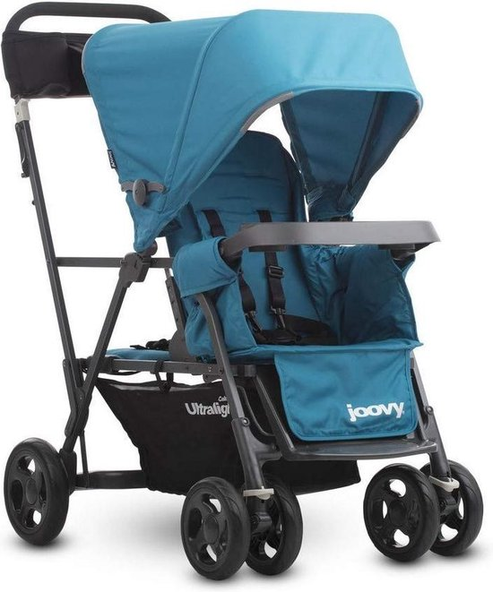 Joovy Caboose Ultralight Graphite Kinderwagen - Turqouise