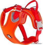 Hurtta weekend Warrior Eco harness rosehip 60-80 - Oranje | Rood