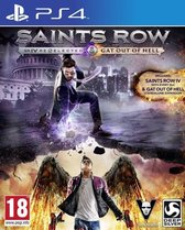 Saints Row IV (4): Re-elected & Saints Row: Gat out of Hell - First Edition /PS4