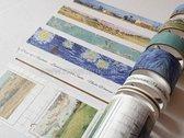 Masking tape Set Vincent van Gogh Washi Tape