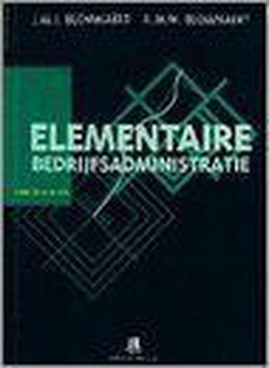 Elementaire bedrijfsadministratie - J.M.J. Blommaert |