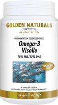 Golden Naturals Omega-3 Visolie (500 capsules)
