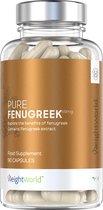 Pure Fenegriek - 90 Capsules - 610 mg - Superfood Supplement - Gewichtsbeheer