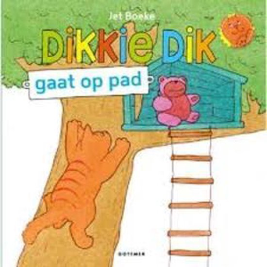 Boek cover Boek Dikkie Dik Gaat Op Pad van J Boeke