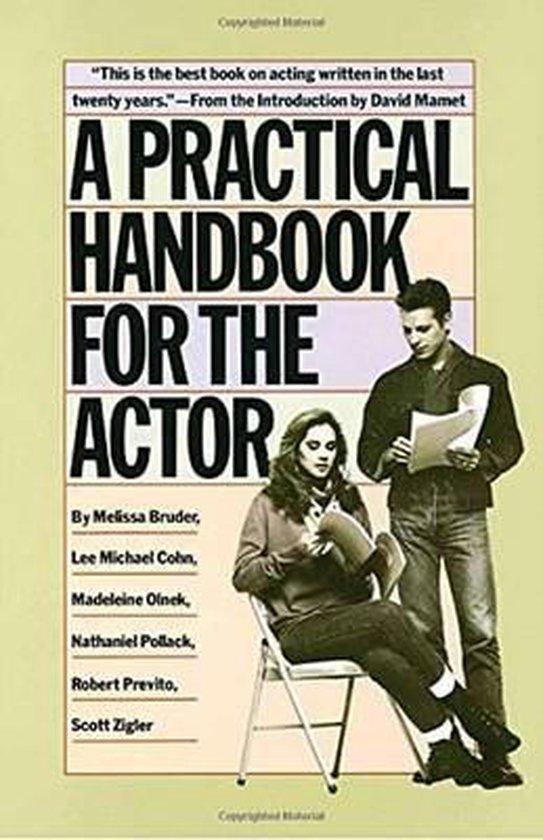 Boek cover A Practical Handbook for the Actor van Melissa Bruder (Paperback)