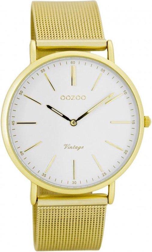 OOZOO Vintage Horloge Goud C7397