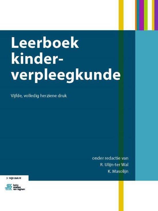 Boek cover Leerboek kinderverpleegkunde van R. Ulijn-Ter Wal (Onbekend)