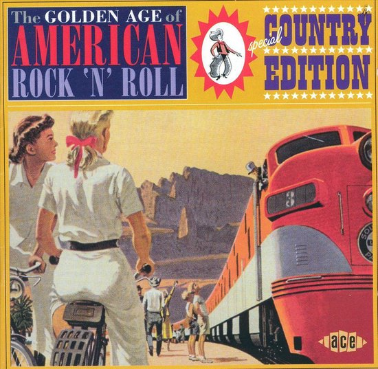 The Golden Age Of American Rock'N'Roll: Special Country Edition - Various