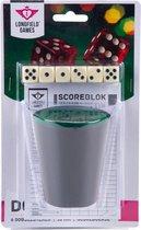 Dobbelsteenset - Scoreblok - 6 Dobbelstenen