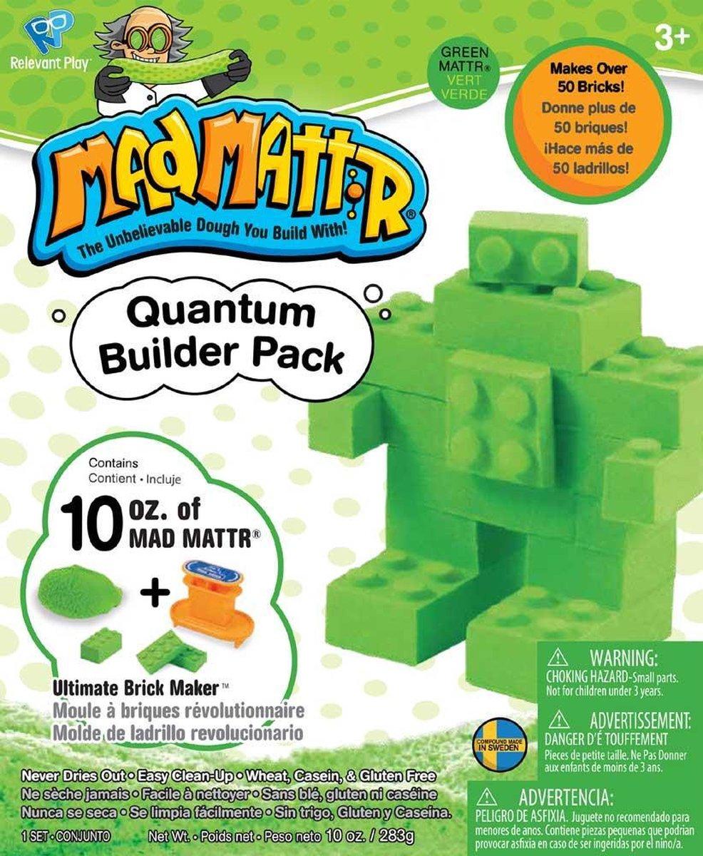 MadMattr Quantum Builders Pack Groen + Brick Maker (283 gram