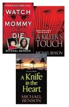 Omslag Michael Benson's True Crime Bundle: Watch Mommy Die, A Killer's Touch & A Knife In The Heart