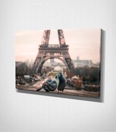 Paris - Eiffel Tower Canvas | 80x120 cm