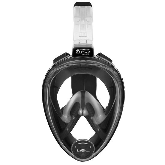 Tusa Snorkelmasker Black Series L/XL
