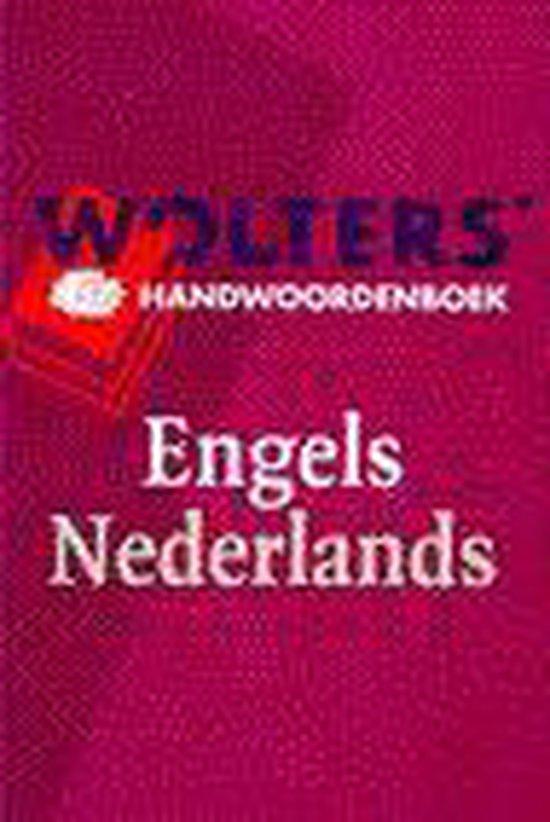 Wolters' handwoordenboek Engels-Nederlands - Bruggencate |