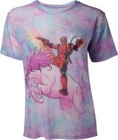 Marvel - Deadpool Sublimation Mesh Women s T-shirt
