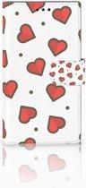 Sony Xperia L2 Hoesje Design Hearts