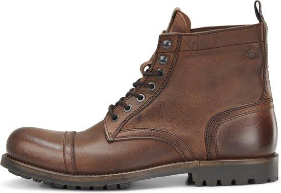 JACK&JONES FOOTWEAR Mannen Veterschoenen - Brown Stone - Maat 46