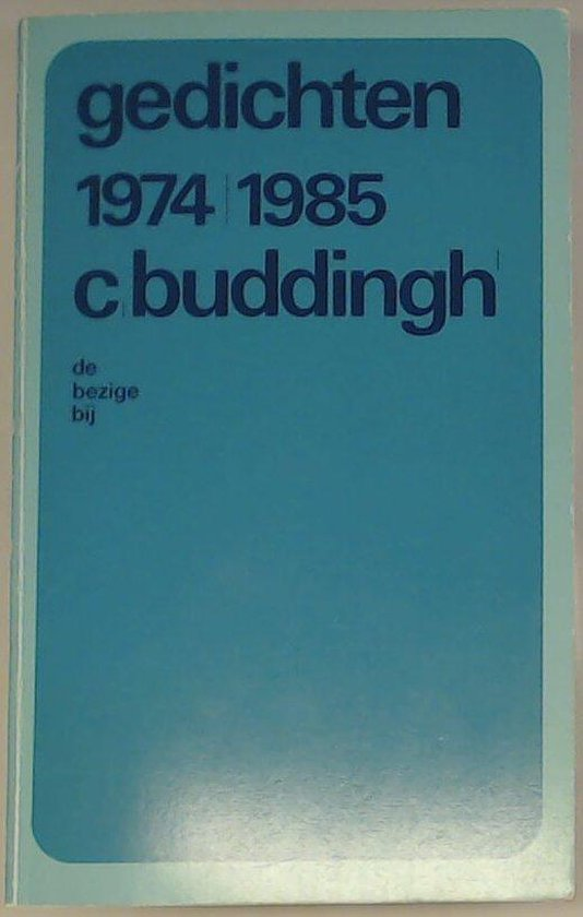 Gedichten 1974-1985 - Cees Buddingh'   Readingchampions.org.uk