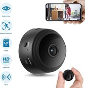 WIFI FHD 1080P Mini Spycam Infrarood Nachtzicht Draadloze Verborgen Camera Huis Beveiliging Gratis APP Zwart
