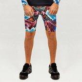 Heren – sportbroek – hardloopbroek – running shorts – Design Katre – Maat L