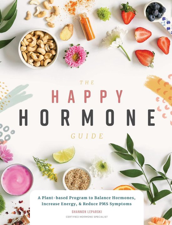 Boek cover The Happy Hormone Guide van Shannon Leparski (Paperback)