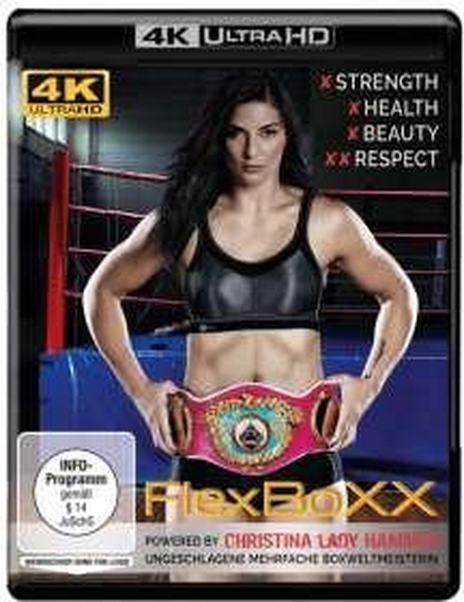 FlexBoxx powered by Christina Hammer (Ultra HD Blu-ray)-