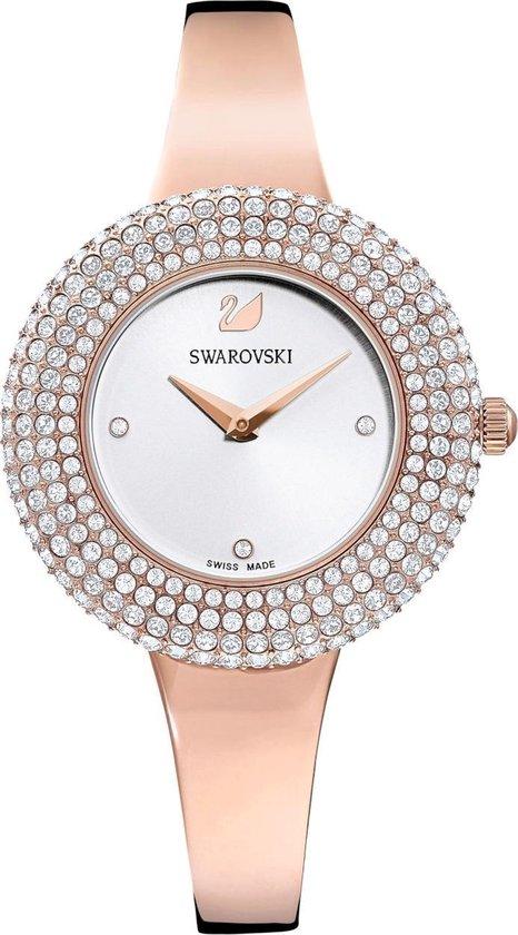 Swarovski Crystal horloge – Goudkleurig