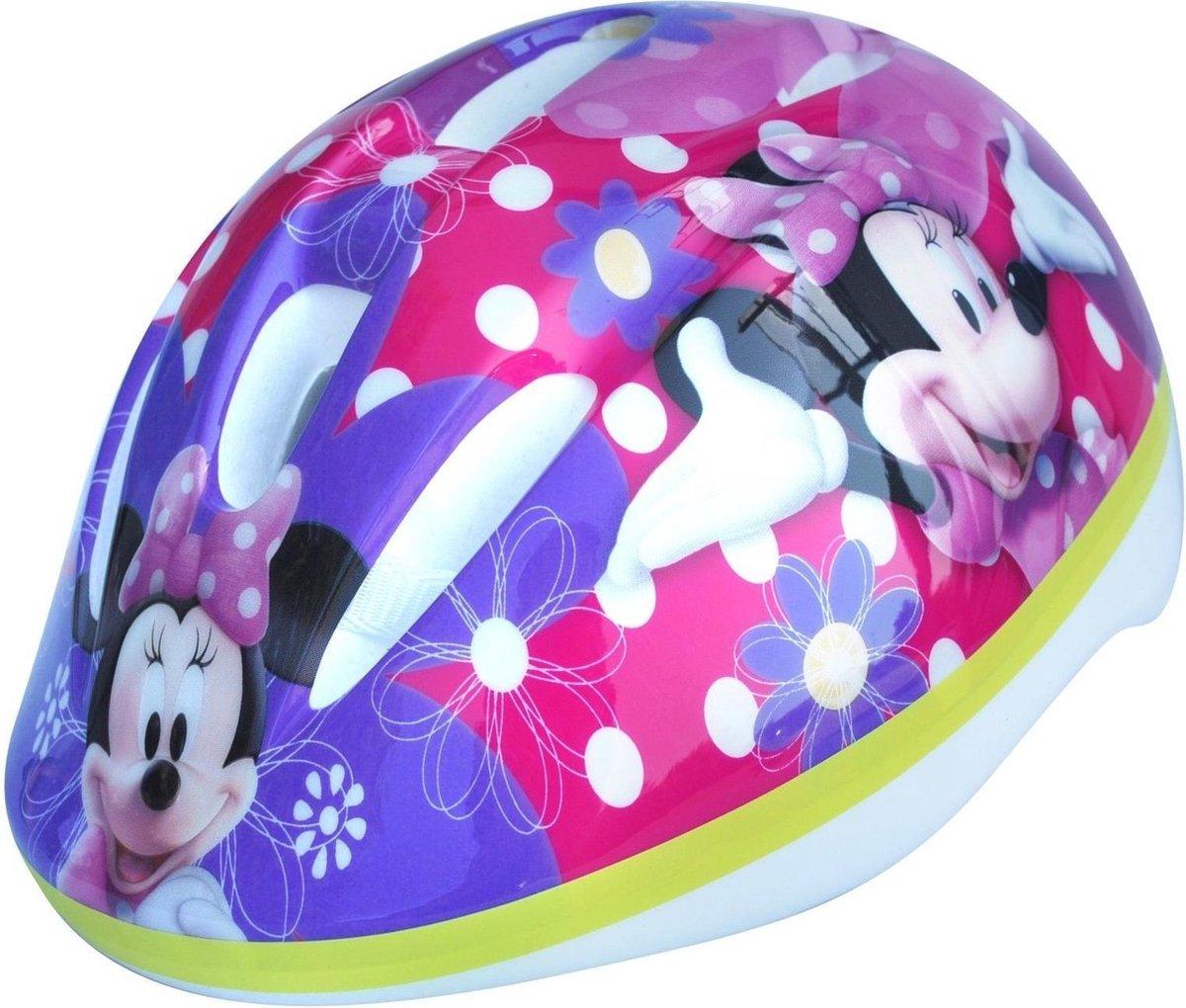 Disney Kinderhelm Minnie Mouse Roze/paars Maat XS 49-51