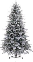 Everlands Vermont Spruce Frosted kunstkerstboom - 210 cm - zonder verlichting