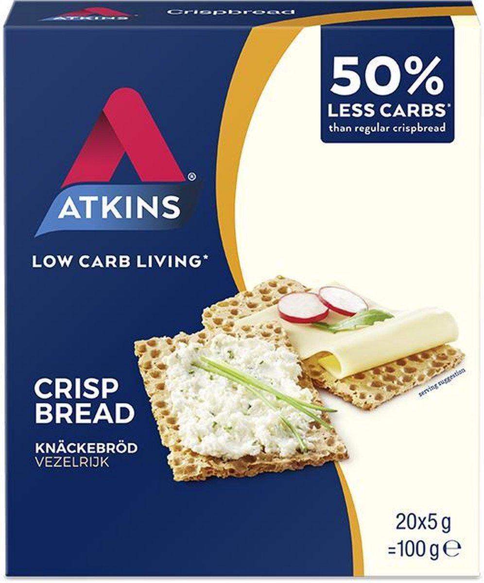 Atkins Crispbread Maaltijdvervanger - 100g - 6 stuks