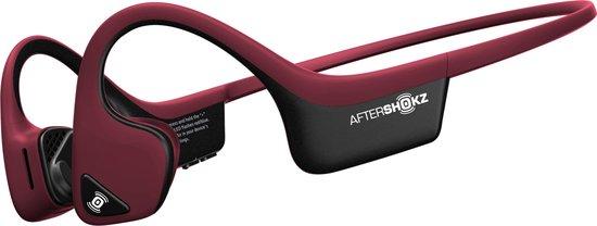 Aftershokz AIR - Bone conduction oordopjes met bluetooth - Rood