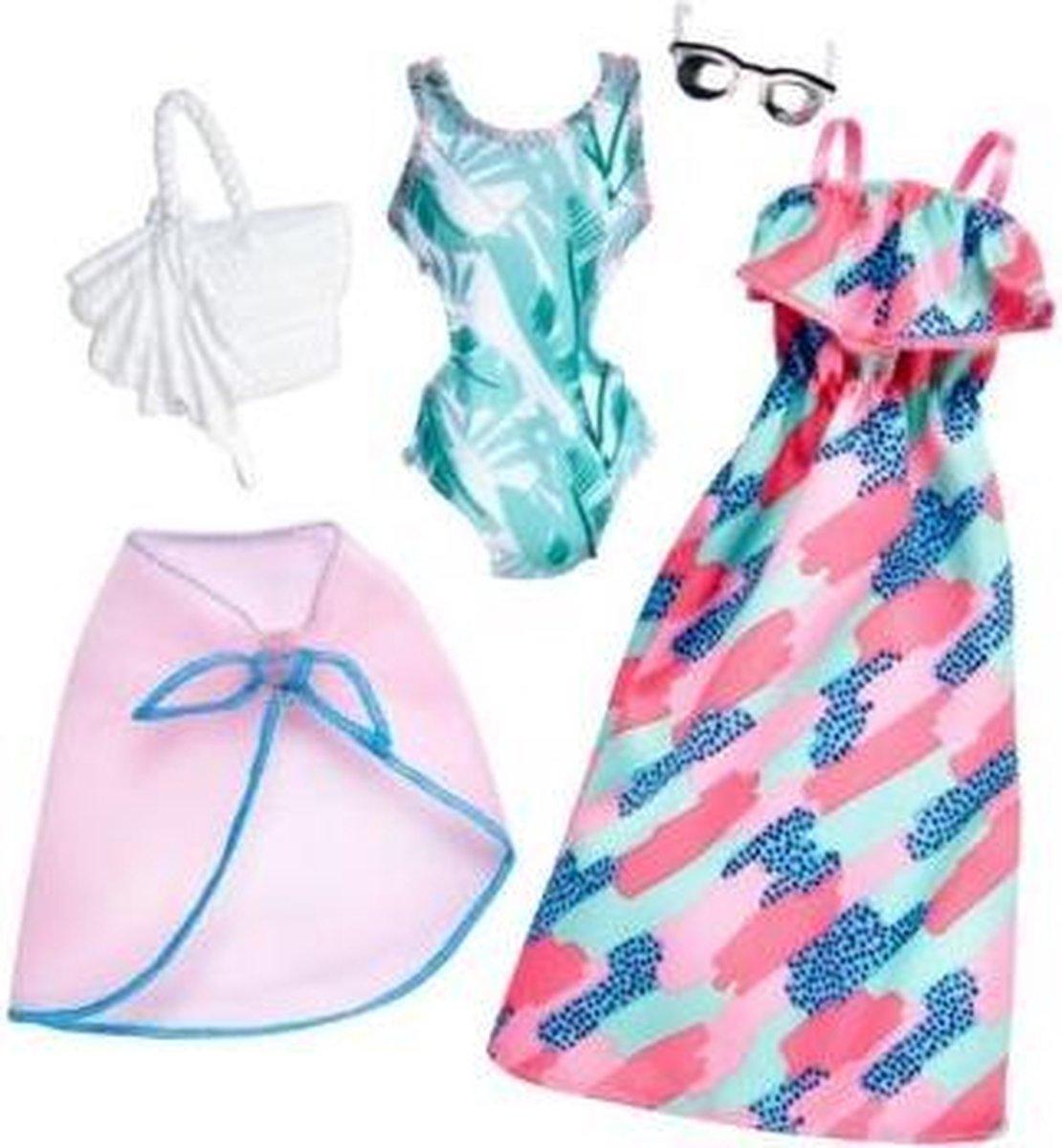 Barbie Fashions 2-Pack Poppenkledingset - Barbie