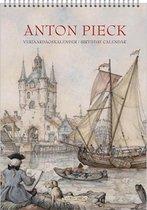 Anton Pieck Verjaardagskalender - Zicht op haven (formaat A4)