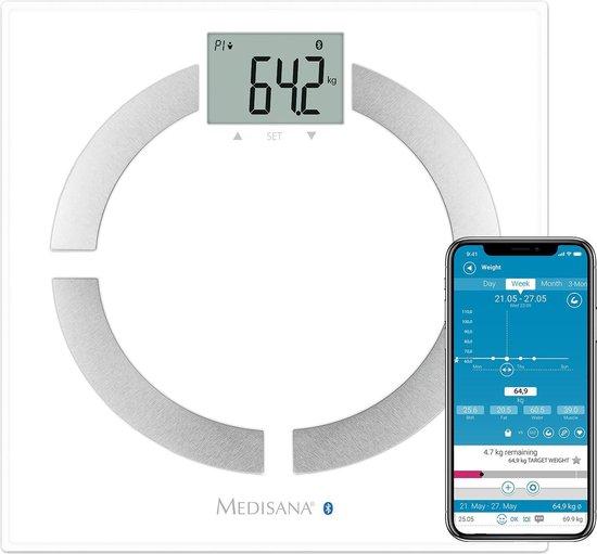 Afbeelding van Medisana BS 444 Connect - Lichaamsanalyseweegschaal