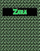 120 Page Handwriting Practice Book with Green Alien Cover Zara