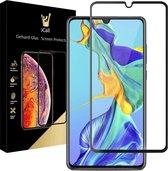 iCall - Huawei P30 Screenprotector - Tempered Glass Gehard Glas - Full Screen Cover Volledig Beeld