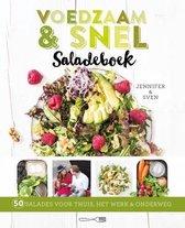 Boek cover Voedzaam & snel saladeboek van Jennifer & Sven
