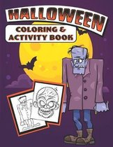 Halloween Coloring & Activity Book