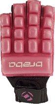 Brabo F4 Indoor Glove Foam - Hockeyhandschoen - Unisex - Maat XS - Roze/ Zwart