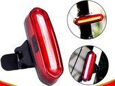 Oplaadbaar Rood fiets achterlicht - waterdicht - monteerbaar