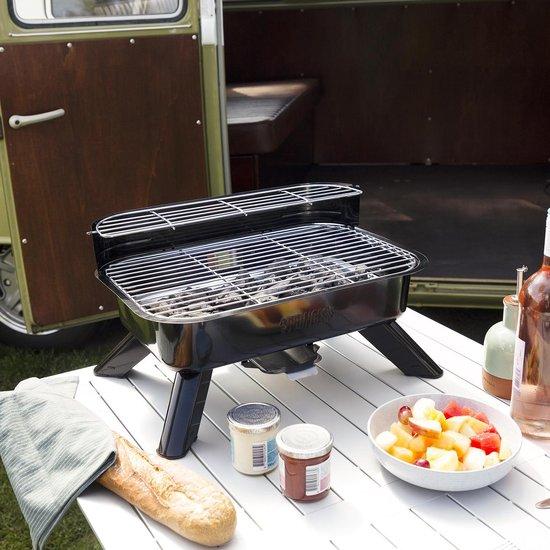 Princess Hybride Barbecue 2000W 44 x 28 cm Zwart