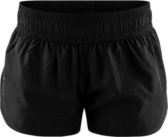 Craft Eaze Woven Shorts Dames Sportbroek - Zwart - Maat M