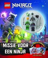 Boek cover LEGO NINJAGO Missie voor een Ninja: 3D Speeltoneel van  (Hardcover)