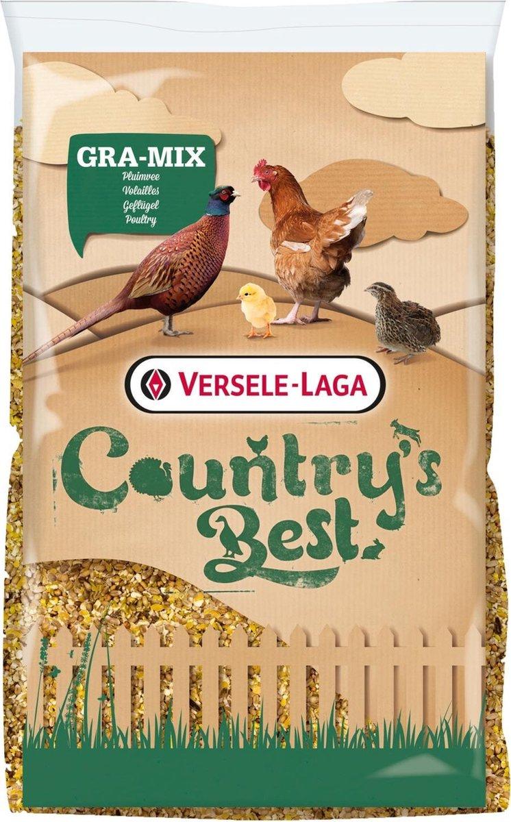 Versele-Laga Country's Best Gra-Mix pluimveemix met grit - kippenvoer - 20 kg