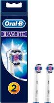 Oral-B 3D White - 2 stuks - Opzetborstels
