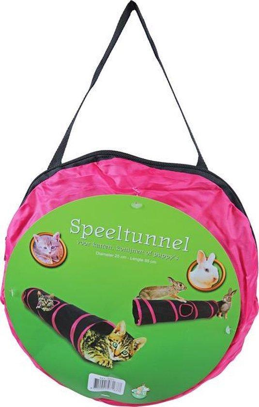 Speeltunnel voor honden katten konijnen nylon 85x25 cm