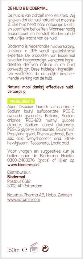 Biodermal Vette & Gemengde Huid Face Gel - 150ml – Bij overtollig talg, puistjes en onzuiverheden