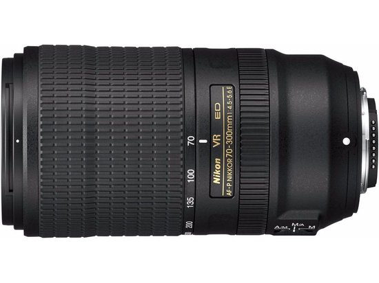 Nikon AF-P 70-300mm f/4.5-5.6E ED VR objectief